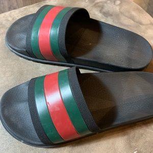 Authentic Gucci Slides Men's